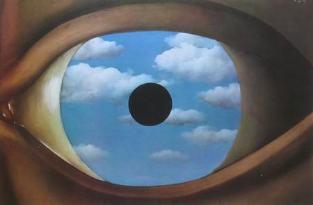 Brin de fantaisie oeil 2013 for Rene magritte le faux miroir